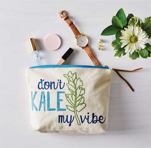 Don't Kale My Vibe Pouch