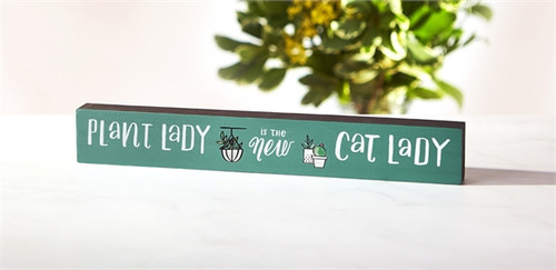 New Cat Lady Skinny Sign