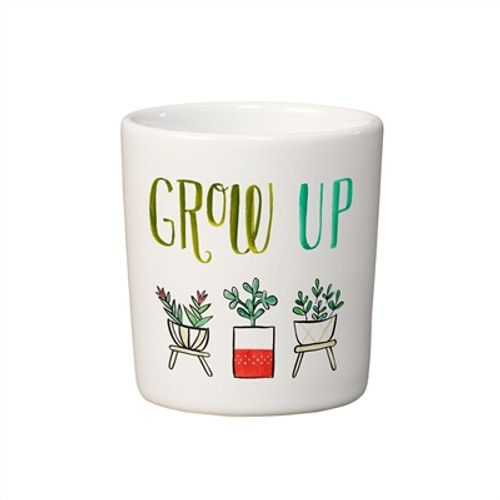 """Grow Up!"" Mini Planter"
