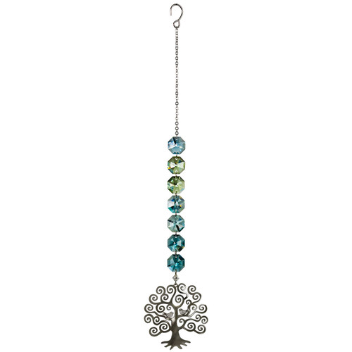 Crystal Radiance Tree of Life Suncatcher by Woodstock