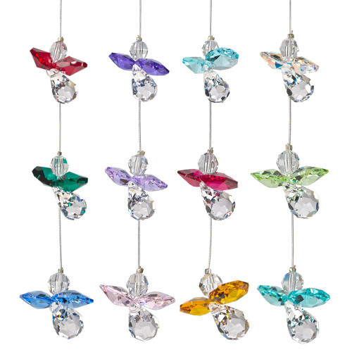 Crystal Guardian Angel Suncatchers