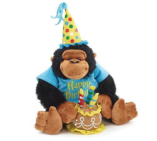 Musical Birthday Chimp
