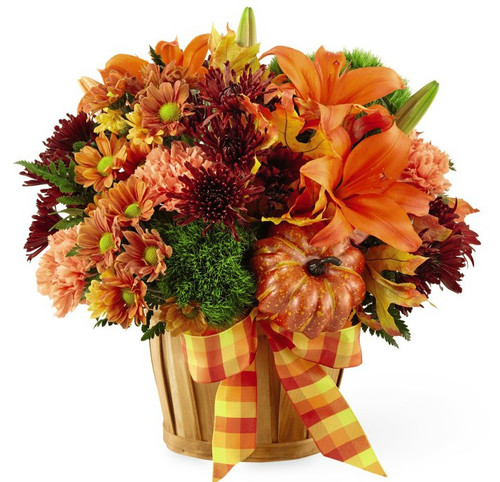 Autumn Celebration Basket