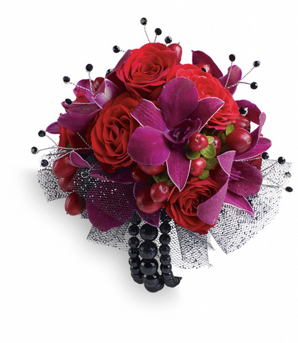 Custom -Made Celebrity Style Corsage Wrist Corsage