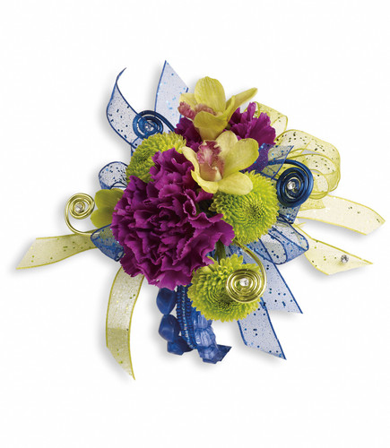 Custom -Made Evening Electric  Corsage Wrist Corsage