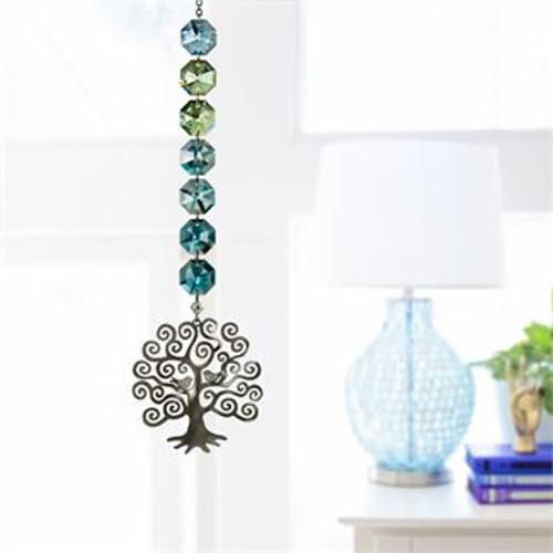 Crystal Radiance Cascade Suncatcher by Woodstock - Tree of Life