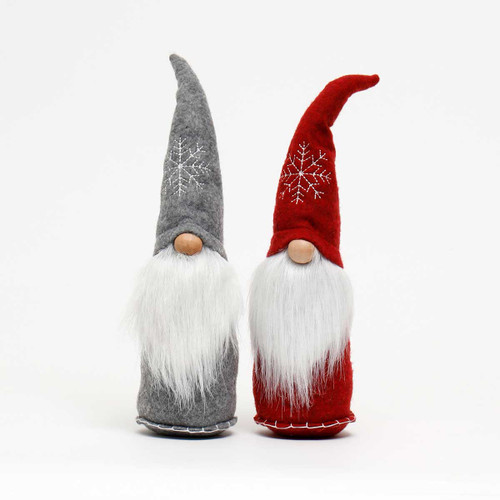 """15"""" Snowflake Hat Gnome (Sold Seperatly)"""