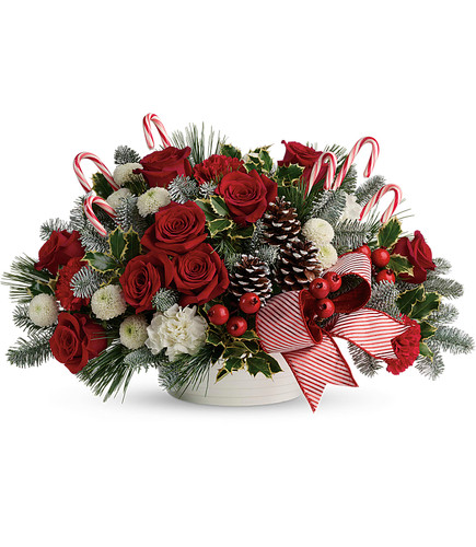 Jolly Candy Cane  Bouquet TWR15-1A