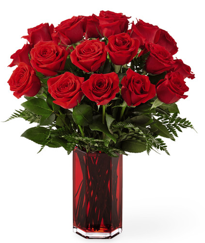 True Romantic Red Rose Bouquet