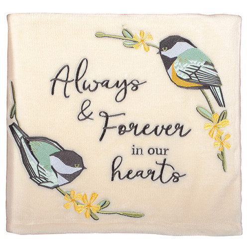 Our Hearts - Keepsake Throw Blanket