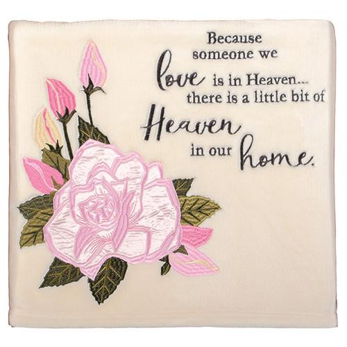 Heaven Home - Keepsake Throw Blanket