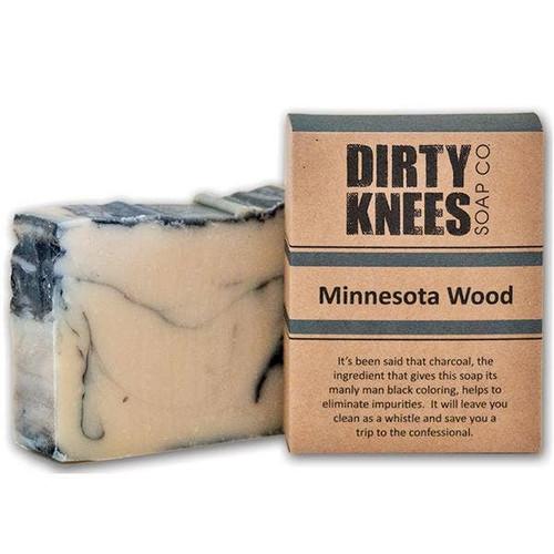 Minnesota Wood Bar Soap by Dirty Knees Soap Co.
