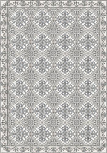 Tile Look Vinyl Placemat Rigid -Set of 6 -Drawit_ G