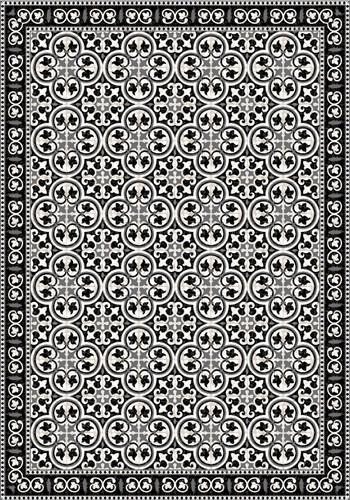 Tile Look Vinyl Placemat Rigid -Set of 6 -Pinta_B