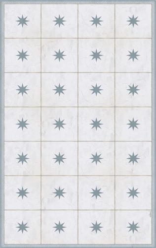 Tile Look Vinyl Doormat, Runner or Area Rug- Sol_A