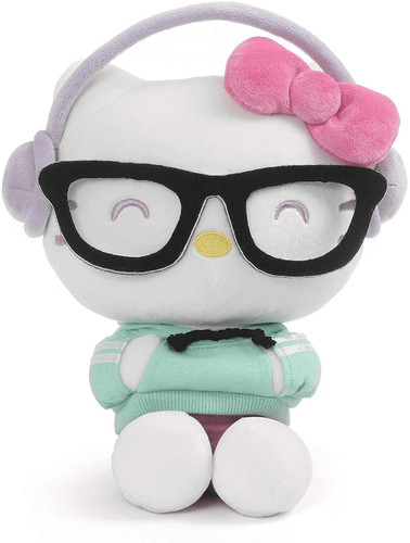 "9"" Kawaii Style Hello Kitty Plush by GUND"