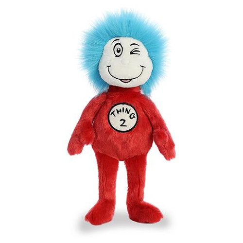 "12"" Thing 2 by Dr Seuss"