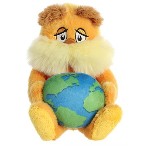 "11"" Lorax with Planet Earth by Dr Seuss"