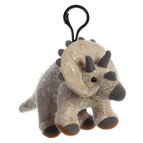 """6"""" Triceratops Clip On"""