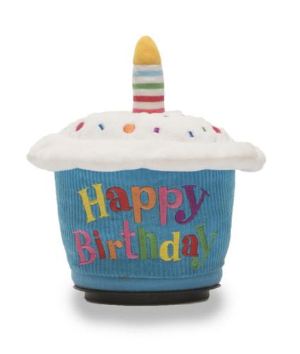 Mini Birthday Cupcake Spinner Sqeezer Cuddle Barn Plush