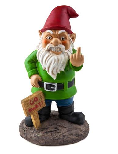 The Go Away Garden Gnome