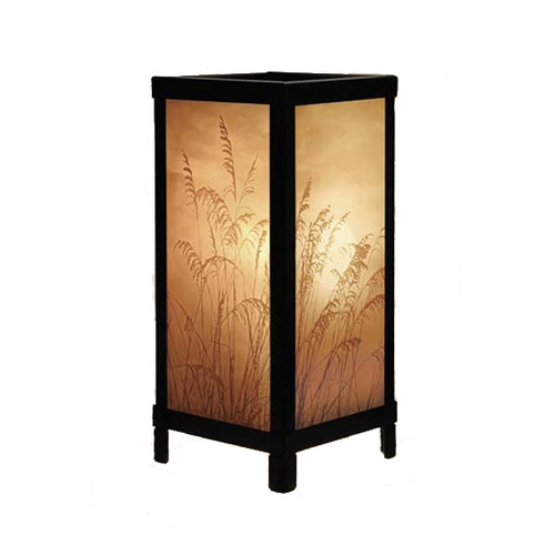 "13"" Golden Sunset Lithoplane Luminaire Lamp"