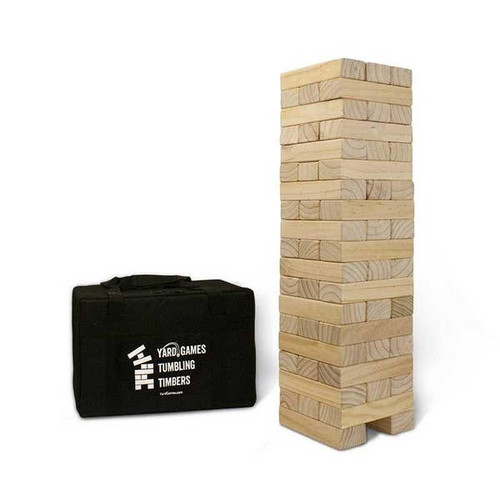Giant Tumbling Timbers with Carrying Case by Yard Games
