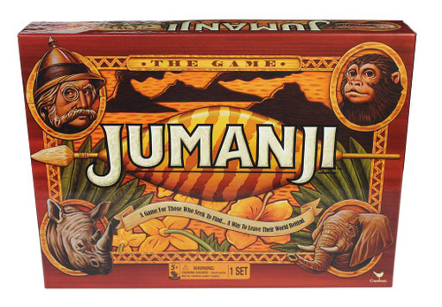 Jumanji Classic Retro '90s Board Game