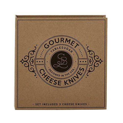 Gourmet Cheese Knives Set by Tablesugar