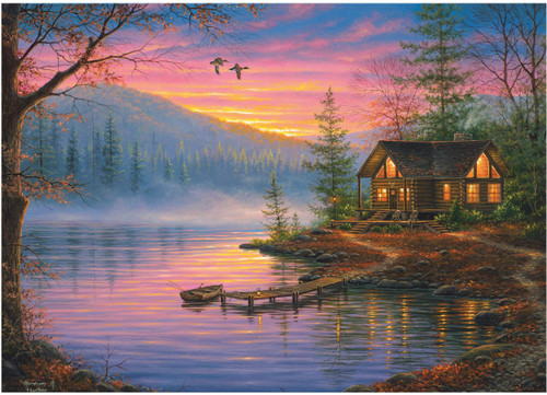 Cabin Still Puzzle in Tin - 1000 Pieces