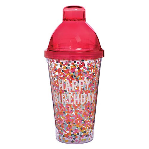 Birthday Shaker/Tumbler Set