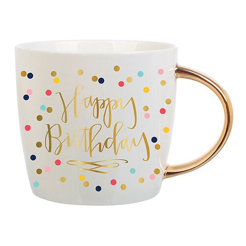 Birthday Confetti Ceramic Mug