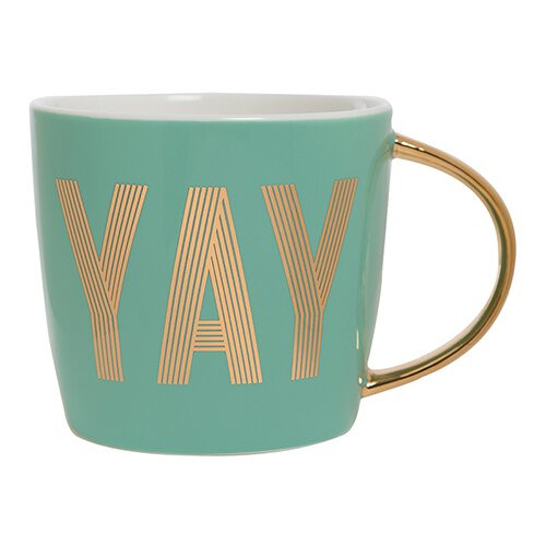 "Birthday ""YAY"" Ceramic Mug"