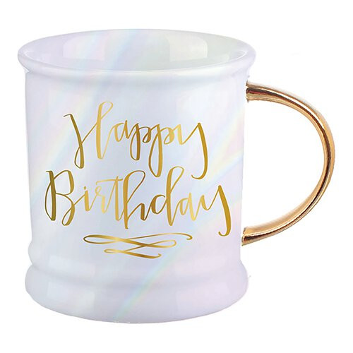 "Birthday ""Opal"" Ceramic Mug"