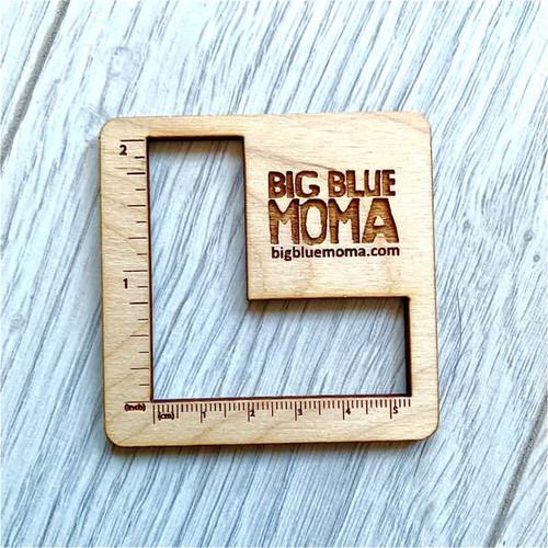 "2"" Peekaboo L Shape Gauge By Big Blue Moma"