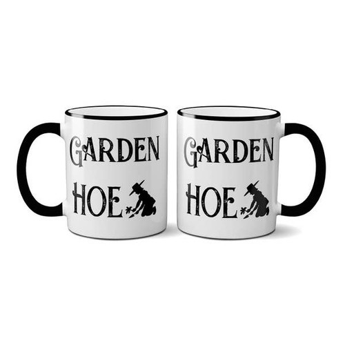 """Garden Hoe! "" Mug with Gift Box"