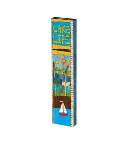 "At The Lake 13"" Mini Art Pole"