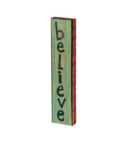 """Believe 13"""" Mini Art Pole"""