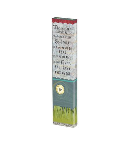 "A Light Remains 13"" Mini Art Pole"