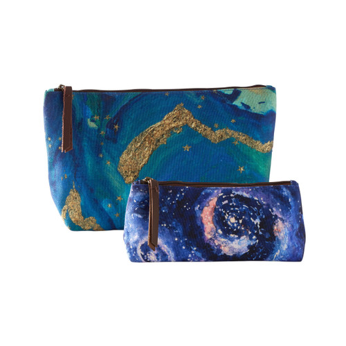 Cosmos- Night Sky Pouches (Set of 2)