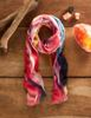 Fire-Abstract Scarf