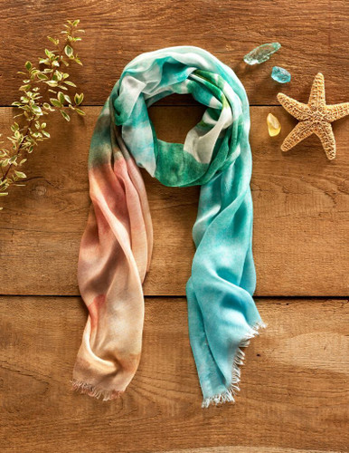 Water-Seascape Scarf