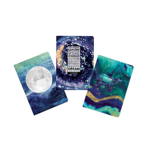 Cosmos-Explore Journal (set of 3)