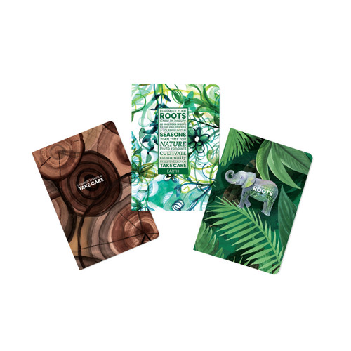Earth-Roots Journal (set of 3)