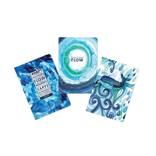Water-Flow Journal (set of 3)