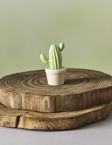 Ceramic Three Arm Cactus