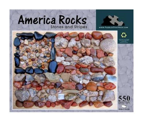 America Rocks Stones Jigsaw Puzzle 550 Piece
