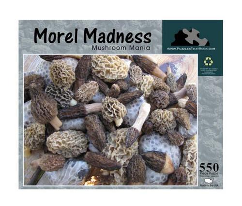 Morel Madness Jigsaw Puzzle 550 Piece