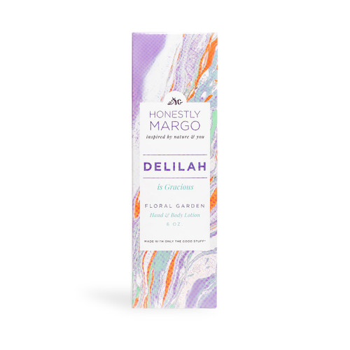 Floral Garden Delilah Hand and Body Lotion