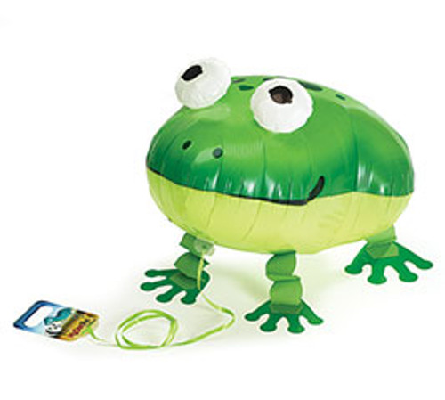 Frog ~ My Own Pet Air Walker Mylar Balloon
